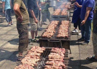 Manor Hill Greek School Sports Day BBQ 2017