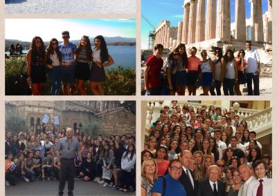 Manor Hill Greek School Athens Trip 2013